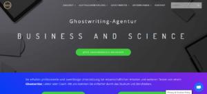 Ghostwriting Erfahrungen