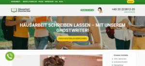 Ghostwriter Hausarbeit Kosten